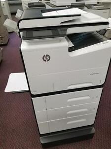 HP Color Printer 577dw PageWide Pro Office Copier Copy Machine Photocopier SALE BUY Lease Colour Copiers Printers