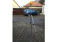 Rotating Laser Level and Tripod NO OFFERS