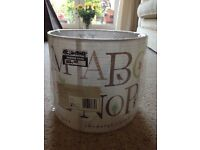 Child's ABC lampshade from B and Q new