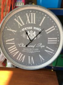 Large Wine Clock