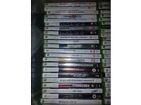 Loads of Xbox 360 Games for Sale. £1.50 each, Cheaper if bought in lots