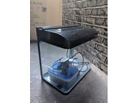 33L fish tank with filter and gravel