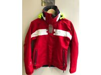 Women's waterproof Jacket: Small, Red, Henri Lloyd. Good for Inshore Sailing. Great condition.