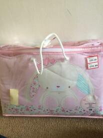 Mothercare cot/cotbed set