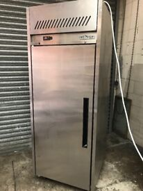 Williams commercial one door upright fridge, catering