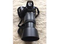 Nikon D5100 body + 3 lenses