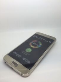 SAMSUNG GALAXY S6 SIM FREE GRADE A IN GOLD COMES WITH CHARGER AND THREE MONTHS WARRANTY