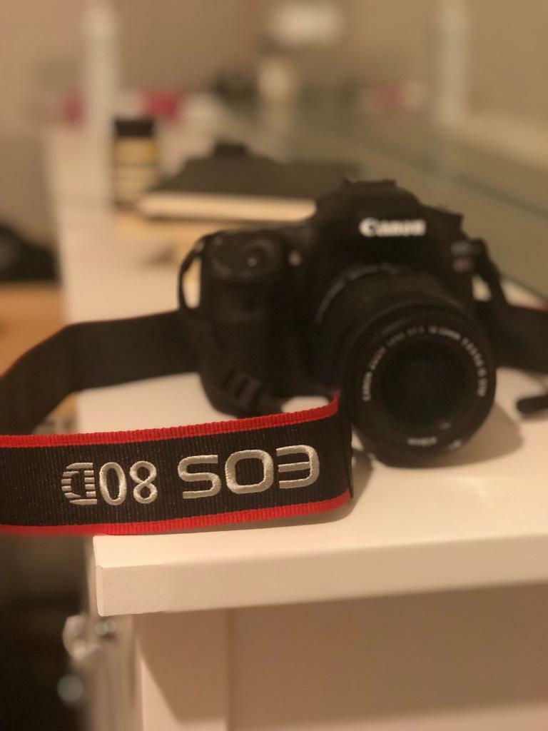 Canon 80D with 18-55 lens | in Old Street, London | Gumtree
