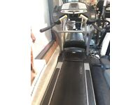 Cybex treadmill with Lifefitness Cross trainer