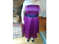 Size 20 beautiful plum evening dress