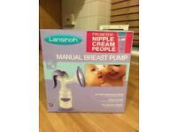 Breast pump (manual) made by Lansinoh