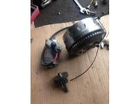 Yamaha yzfr125 engine parts crank gearbox etc2009 model