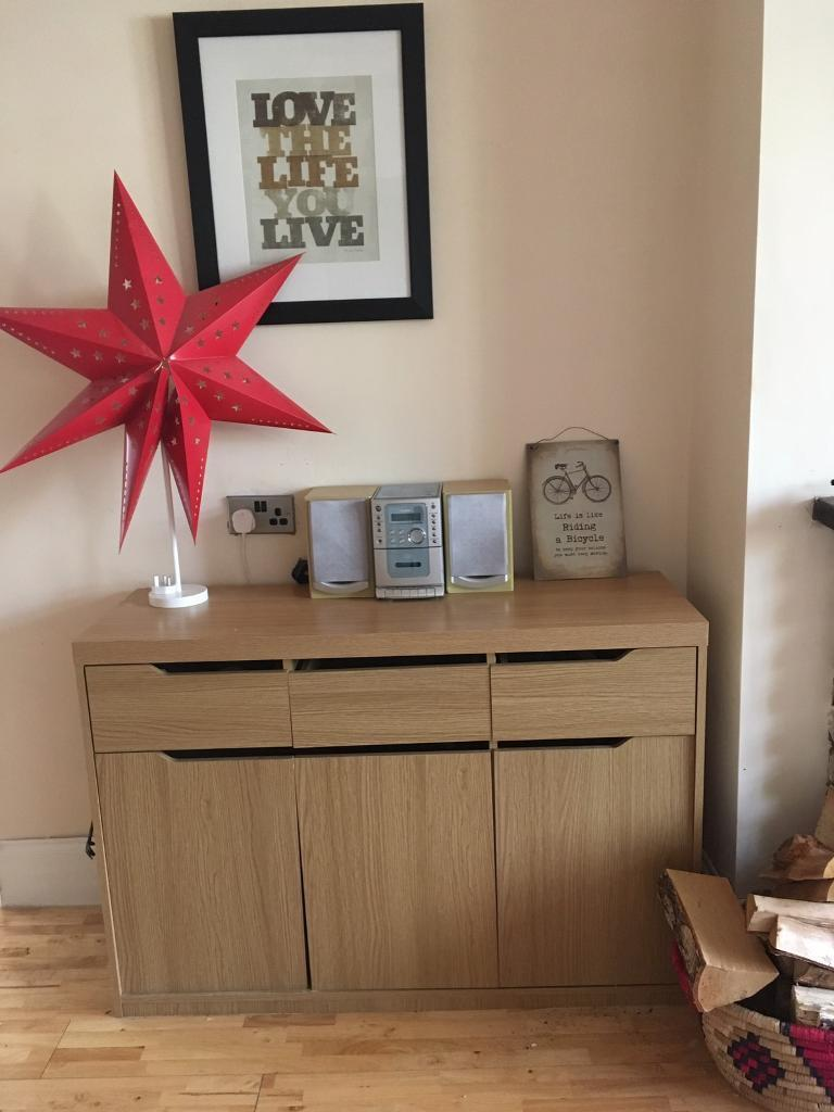 Contemporary Sideboard Living Room Storage Unit L In Upton