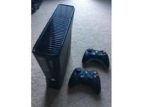 XBOX 360..x2 CONTROLLERS...+EXTRAS