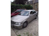 Mercedes Benz c180 mot till next june excellent condition