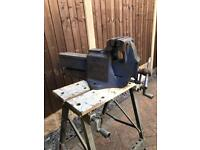 Irwin 114 heavy duty top of line bench vice Cost over £1k new