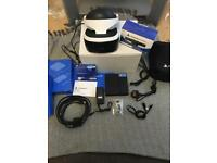 PS4 VR with demo disc and carry case