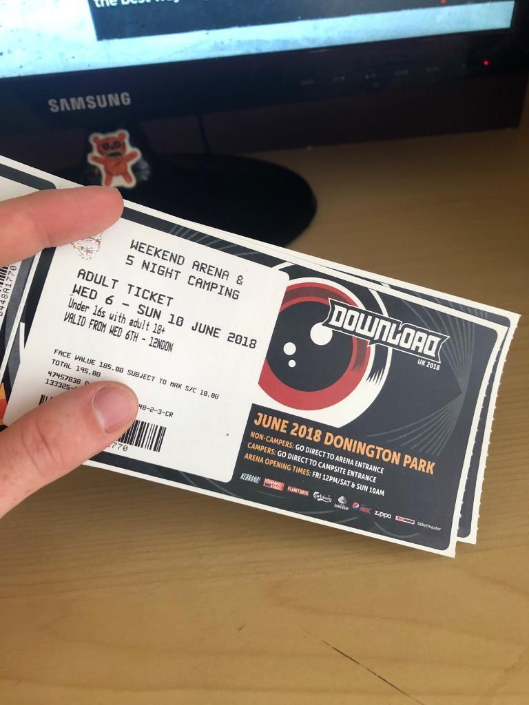 Download festival | download festival 2019 tickets are on sale now.