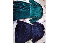Girls Next velvet dresses