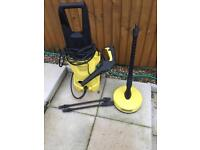 K2 full pressure washer with patio scrubber SOLD
