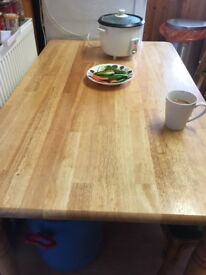Quick sale table and 3 chair