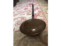Copper bed pan