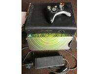Xbox 360 elite 120gb with 8 games