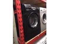 BEKO 6KG WASHING MACHINE BLACK RECONDITIONED