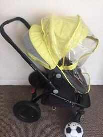 Mother care pram and carrycot