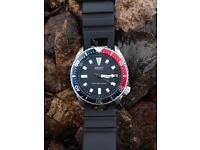 Seiko automatic divers watch 7002 Pepsi