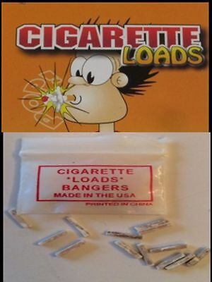 Exploding Cigarette Loads Bang Practical Joke Gag Prank Annoy Smokers Pops Party - Jokes Gags