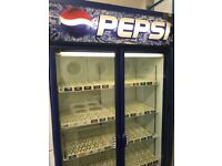 Pepsi drink fridge very good condition look like new perfect working order for sale