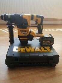 I have a brand new in box dewalt 54v brushless sds drill wirh 6 amp battery