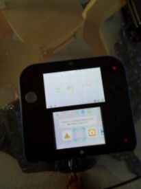 Working 2ds and charger no pen.Plus game for sale.