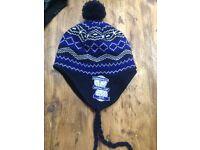 Boys Birmingham city woolly hat