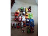 Bundle of kids cars