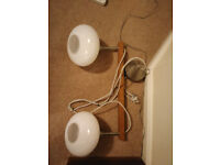 light fitting for ceiling - pendant lamp - double (Ikea), suitable for kitchen or dining area