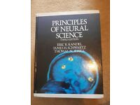 Textbook for sale: Principles of neural science