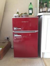 Montpellier Retro Fridge Freezer