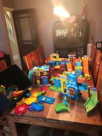 Job lot of VTech Toot Toot toys