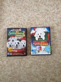 Kids Santa paws dvds.. like New!!