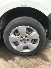 Vauxhall combo fiat doblo wheels and tyres tires 15inch and 16inch
