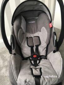 Recarro Car Seat Grey