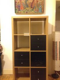 Storage Ikea cubes drawers Oak in Harringay