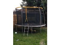 12ft trampoline selling due to moving home need picked up