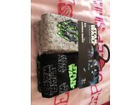 4 pairs new Star Wars socks shoe size 9-12