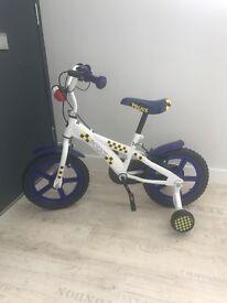 Boys 14 inch Police bike ex.cond