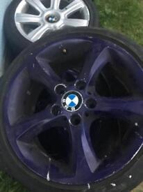 "Bmw 1 series 17"" alloy wheels"