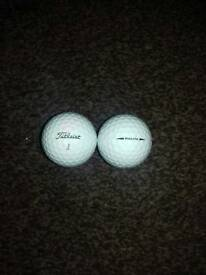 16 Used Titleist Pro V1X golf balls pearl grade 'A'