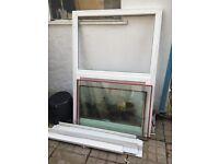 Free double glazed window - lower opening 1200mm width